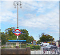 TQ2995 : Oakwood Station Forecourt by Des Blenkinsopp