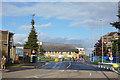 TQ3197 : Chase Farm Hospital Entrance by Des Blenkinsopp