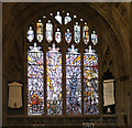 SO7745 : Great Malvern Priory: Millennium window (1) by Bob Harvey
