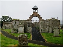 NT4728 : Kirk  o'  the  Forest  graveyard.  Selkirk by Martin Dawes