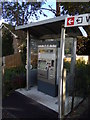 TL9033 : Ticket Machine at Bures Railway StationOff The Paddocks by Geographer