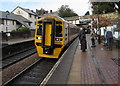 SH7877 : Birmingham International train at Conwy station by Jaggery