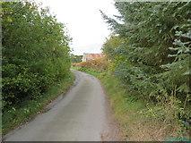 NJ6102 : Jaffray Road at Wester Beltie by Peter Wood