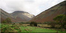 NY1807 : View Towards Great Gable by Peter Trimming