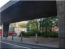 TQ3684 : Under the Blackwall Tunnel Approach, Hackney Wick by David Howard