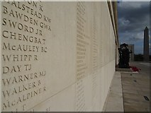SK1814 : The Armed Forces Memorial by Philip Halling