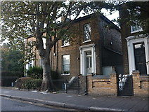 TQ3484 : Houses on Graham Road, Dalston by David Howard