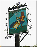SO8864 : The Fox & Goose (b) - sign, Farmers Way, Westlands, Droitwich Spa, Worcs by P L Chadwick