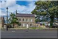 NU1734 : Bamburgh Hall by Ian Capper