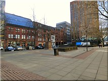 SJ8398 : Lincoln Square by Gerald England