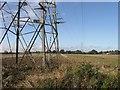 TF0438 : Electricity transmission line by Alex McGregor