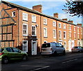 SO4958 : Row of three-storey brick houses in Leominster by Jaggery