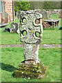 NY5738 : Saxon cross in St Michael's churchyard, Addingham, Glassonby by Mike Quinn