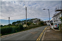 SW5638 : Phillack : Churchtown Road by Lewis Clarke