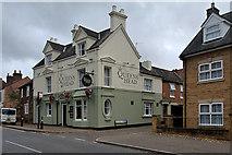 SP8868 : The Queens Head, Broad Green by David Dixon