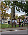 SP8851 : War Memorial, Olney Market Place by David Dixon