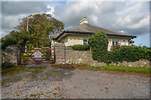 SD3876 : Allithwaite : South Lodge by Lewis Clarke