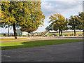 TL4546 : Duxford Airfield, Replica Spitfire by David Dixon