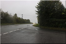 SU0883 : Stoneover Lane at the corner of Swindon Road by David Howard