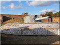 TL4546 : IWM Duxford, Coastal Defence Gun by David Dixon