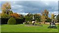 SJ2106 : Lawn maintenance, Powis Castle by Robin Drayton