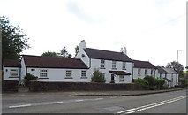 ST5192 : Houses on the A48, Pwllmeyric by JThomas