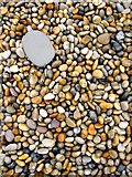SY6873 : Pebbles on Chesil Beach, near the Cove Inn, Chiswell by Stefan Czapski