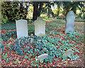 SP8915 : All Saints Churchyard, Long Marston by Des Blenkinsopp