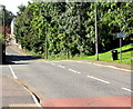 ST0168 : Cowbridge Road School/Ysgol direction sign, St Athan by Jaggery