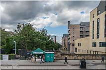 NT2674 : Sweet stall and police box by Ian Capper