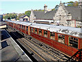 SO7192 : Smart rolling stock at Bridgnorth Station in Shropshire by Roger  Kidd
