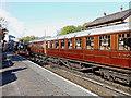 SO7192 : Bridgnorth Station in Shropshire by Roger  Kidd