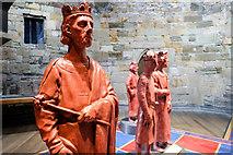 SH4762 : Llywelyn ap Iorwerth and friends in Caernarfon Castle by Jeff Buck