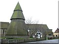TQ9825 : St Augustine's Church in Brooklands, Kent by John P Reeves