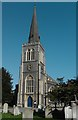 TQ2471 : St Mary's Church in Wimbledon, Greater London by John P Reeves
