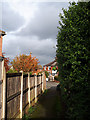 SE2335 : Footpath to Bramstan Gardens by Stephen Craven