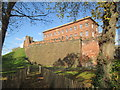 SJ4065 : Chester  Castle  from  city  walls by Martin Dawes