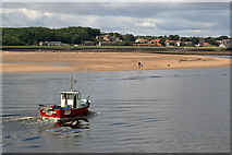 NU0052 : The Tom Boffin on the Tweed Estuary by Walter Baxter