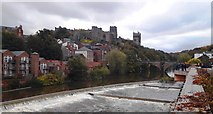 NZ2742 : The River Wear at Durham by Anthony Parkes