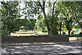 SK3899 : View of bandstand in Elsecar Park from Wentworth Road by Luke Shaw