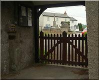 SX4563 : Lych gate, Bere Ferrers by Derek Harper