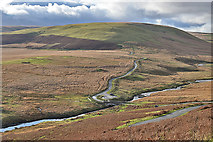 SN9071 : The Elan valley at Pont ar Elan by Nigel Brown