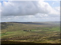 SD8471 : View of Rainscar farm from the summit of Pen-y-Ghent by Bill Harrison