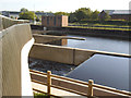 SE3231 : New weirs on the river Aire at Knowsthorpe by Stephen Craven