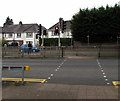 ST1580 : Twin pelican crossings, Northern Avenue, Cardiff by Jaggery