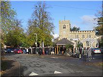 TL4262 : Girton: Remembrance Sunday by John Sutton