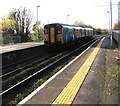 ST1368 : Barry Island train leaving Cadoxton station by Jaggery