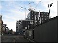 NT2472 : Building site, Fountainbridge by M J Richardson
