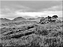 NN3002 : Ben Reoch - Summit Cairn by Raibeart MacAoidh