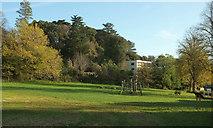 SX9364 : Play area, Stoodley Meadow by Derek Harper